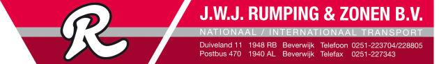 J.W.J. Rumping en Zonen B.V.